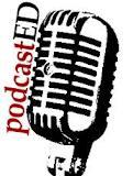 podcastED logo