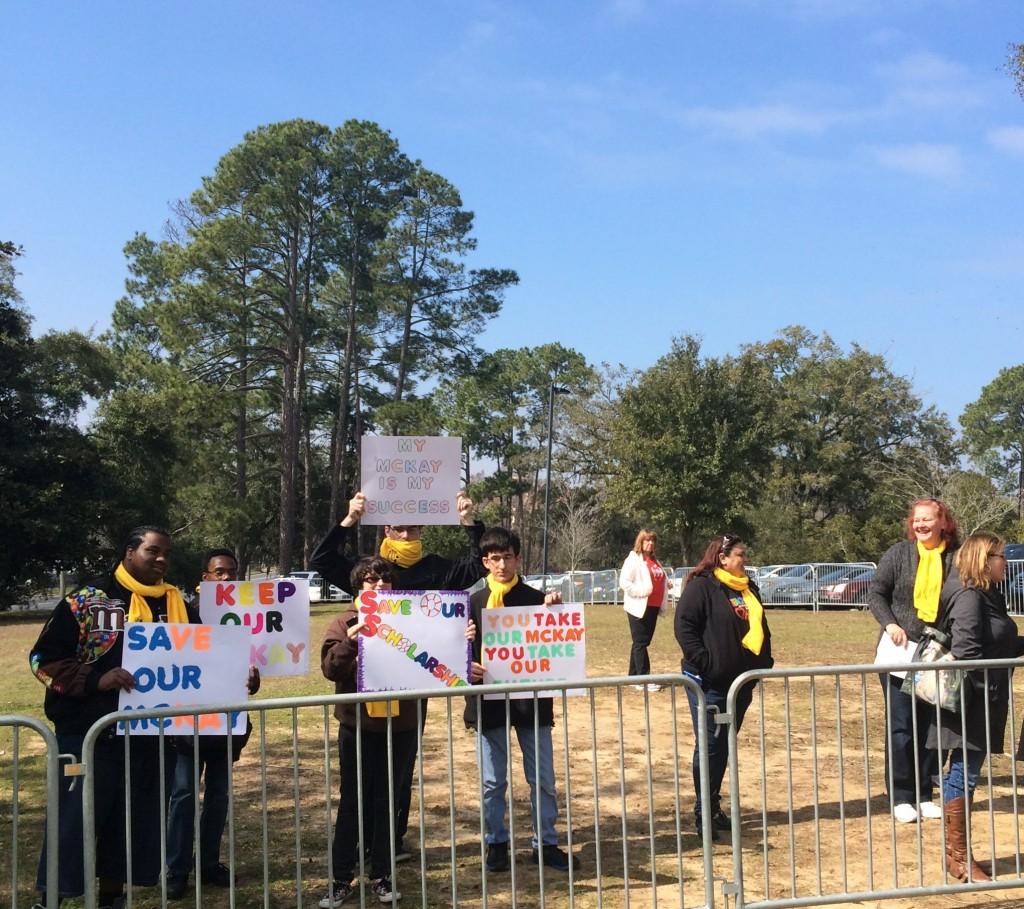 McKay Protest picture