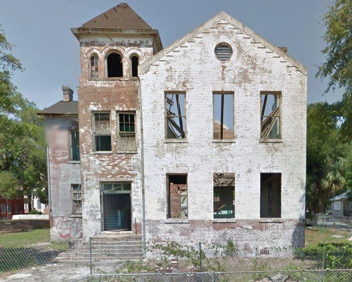 St. Benedict the Moor School in 2011. Source, Google Maps.
