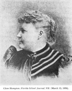 Clementine Hampton, vice president of the Florida Education Association.