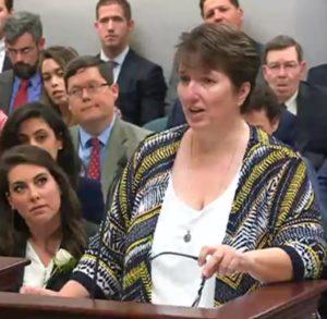 Kathleen Dale committee testimony
